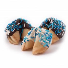 Печенье с предсказаниями Фортуна (голубая) №1