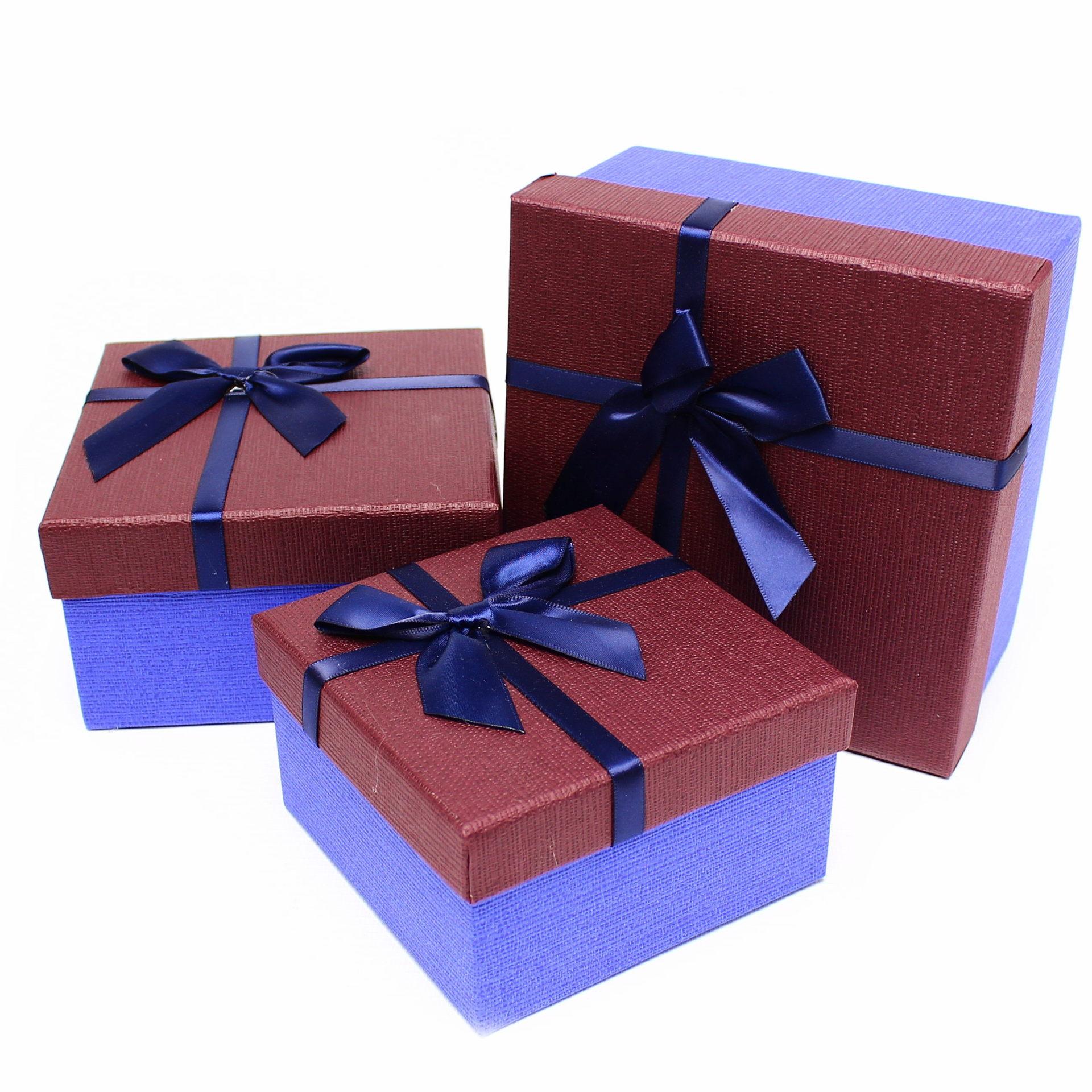"""Коробка """"Фортуна (бордо) №3"""""""