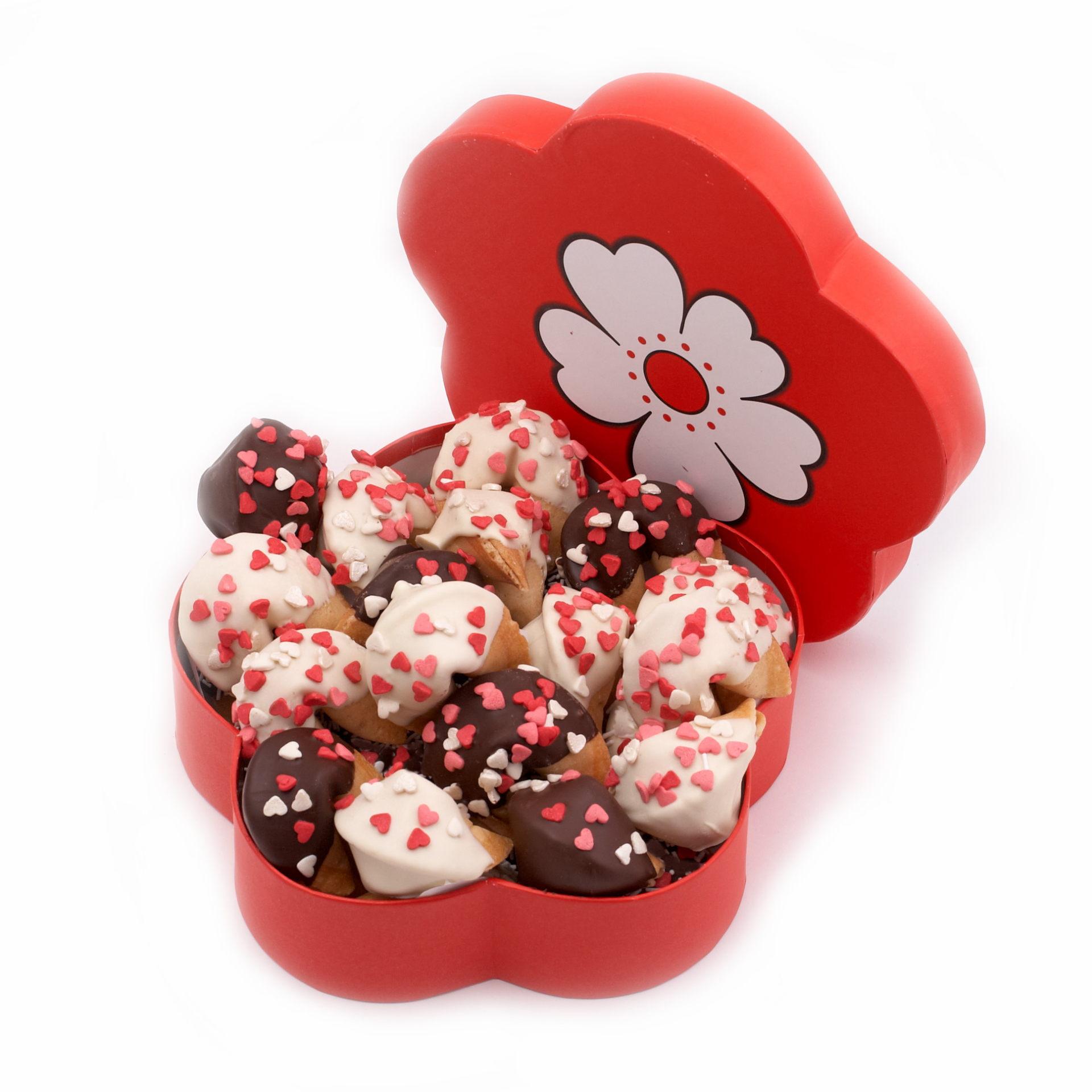 Печенье с предсказаниями Цветок №4