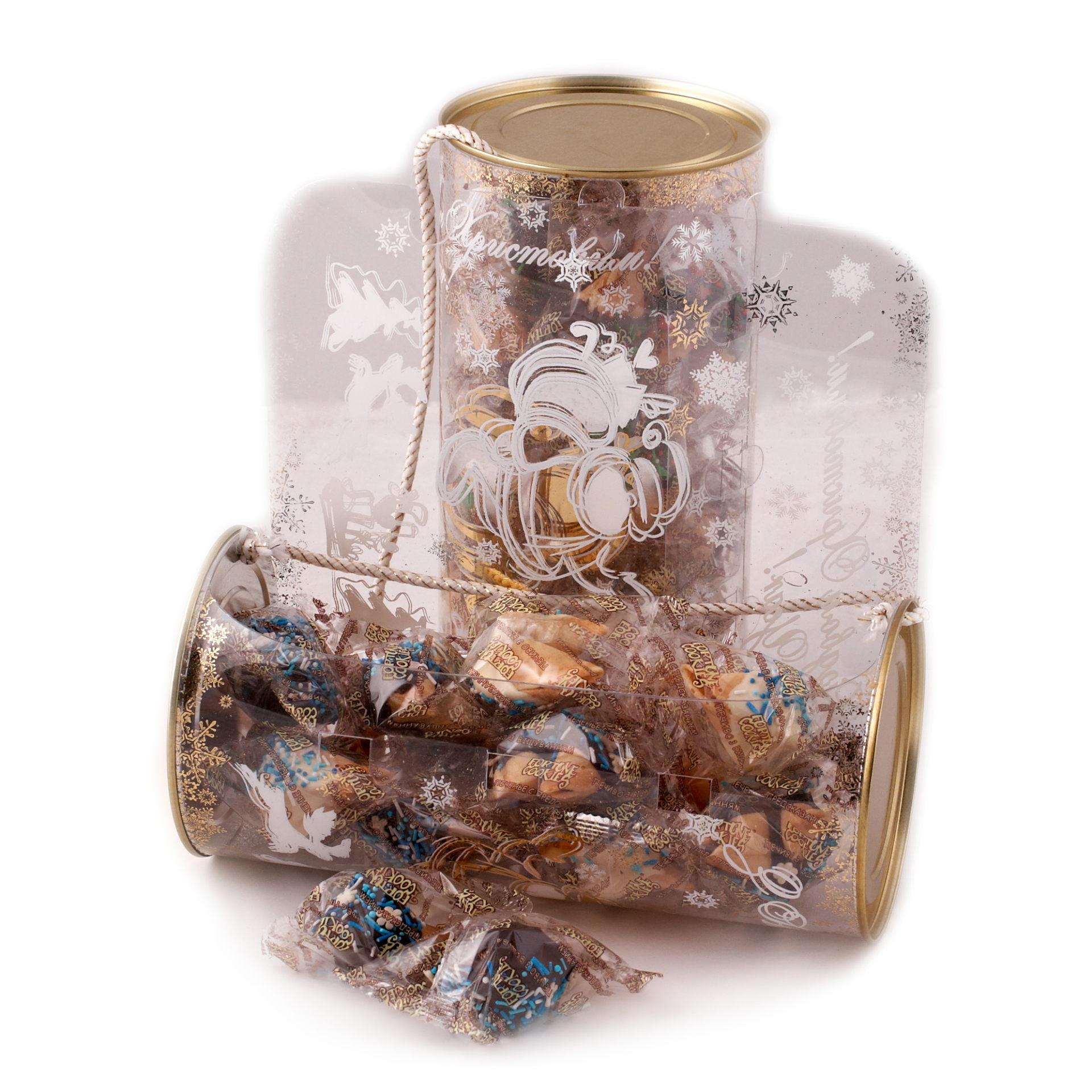 Печенье с предсказаниями Дед Мороз